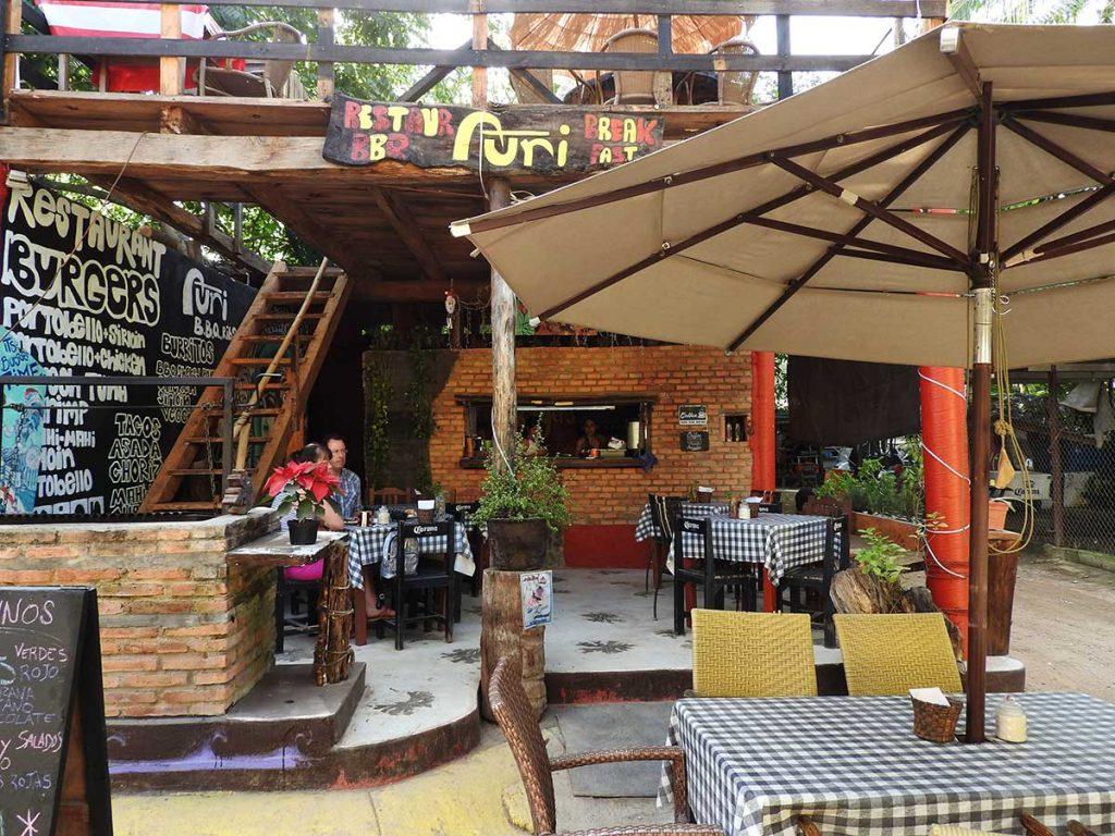 Auri Restaurant in Sayulita, Mexico