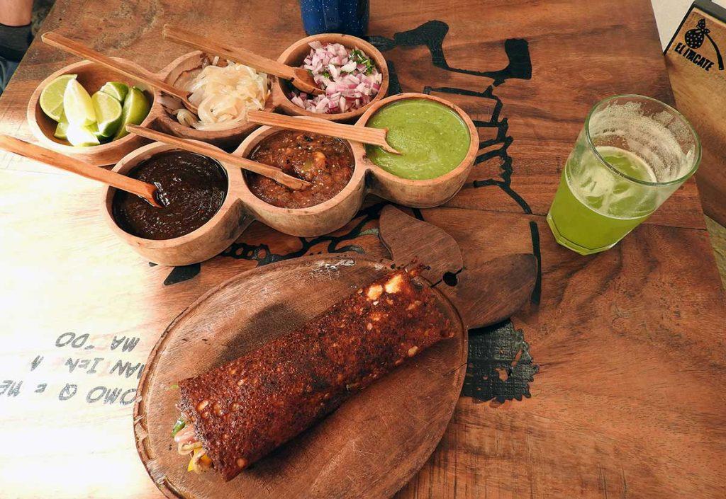 Vegetarian Itacate in Sayulita, Mexico - Sayulita Restaurants Guide
