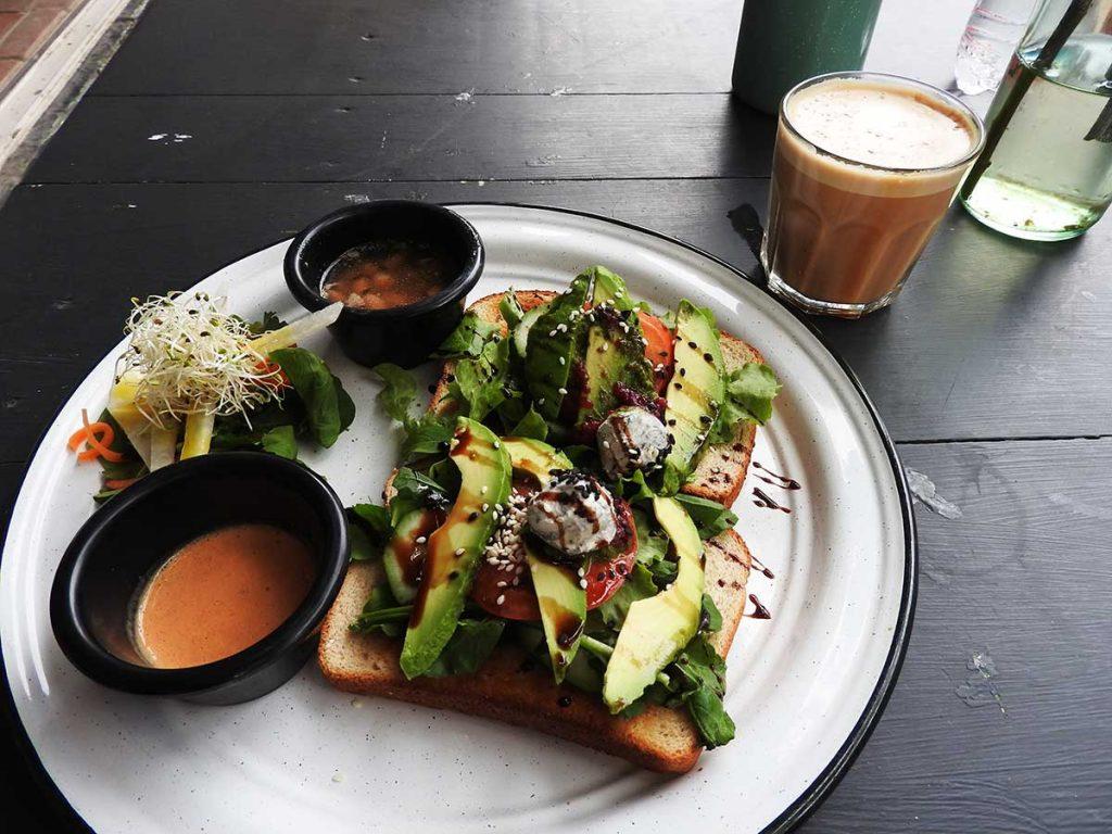 Avocado Toast at La Esperanza Restaurants in Sayulita