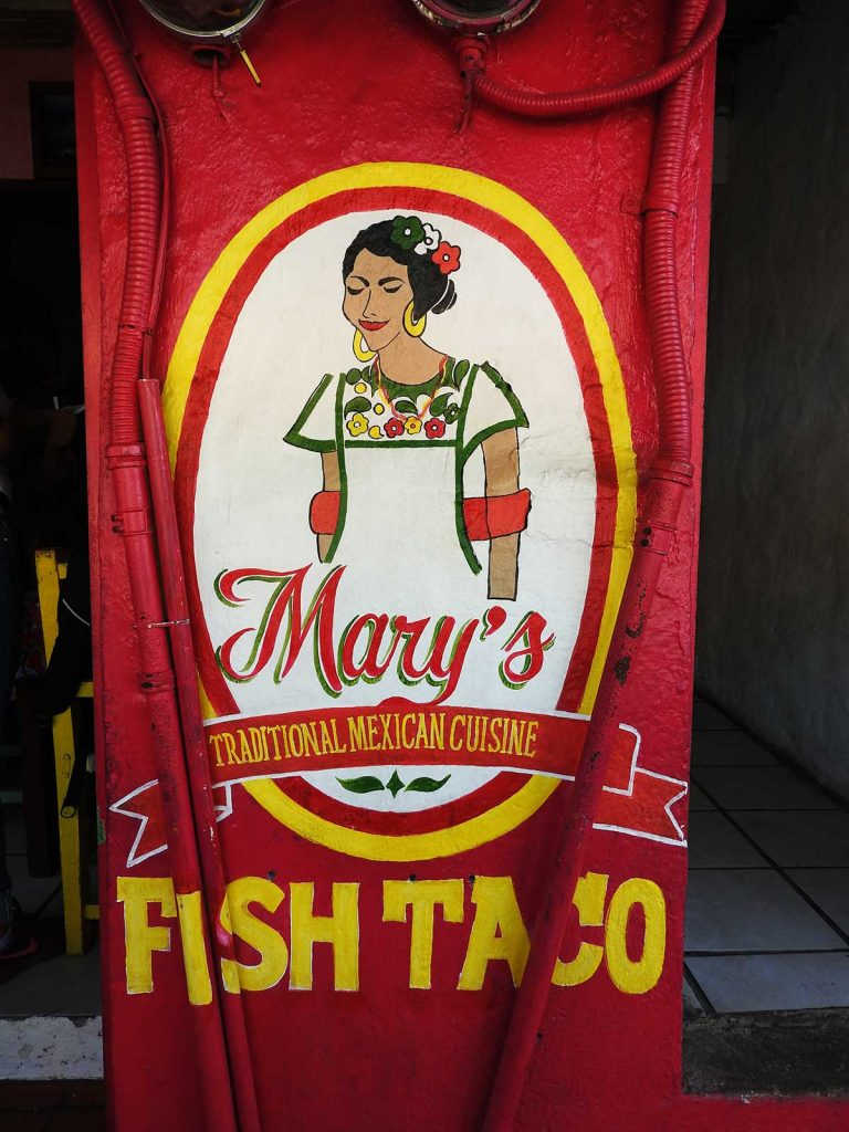 Mary's Traditional Mexican Cuisine Restaurant in Sayulita, Mexico