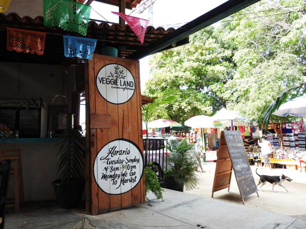 Veggie Land Restaurant in Sayulita, Mexico