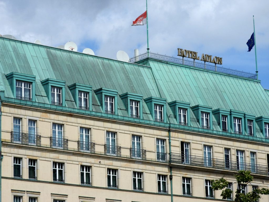 A Luxury Hotel - The Adlon Hotel in Berlin, Germany