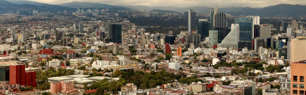 Mexico City View from Above - Bucket List Travel Destinations to Have Before Turning 30