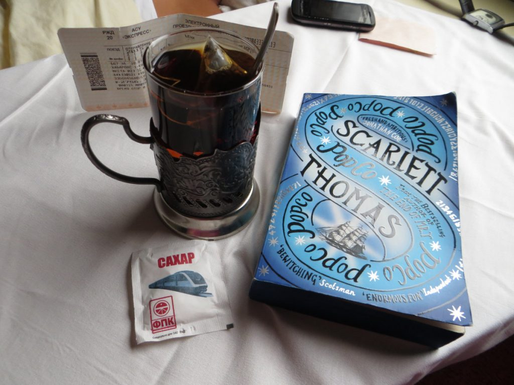 Drinking Tea on the Trans-Siberian Railway