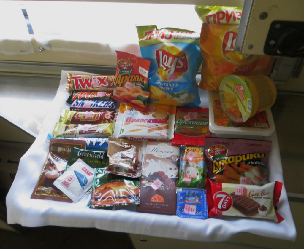 Snacks on the Trans-Siberian Express