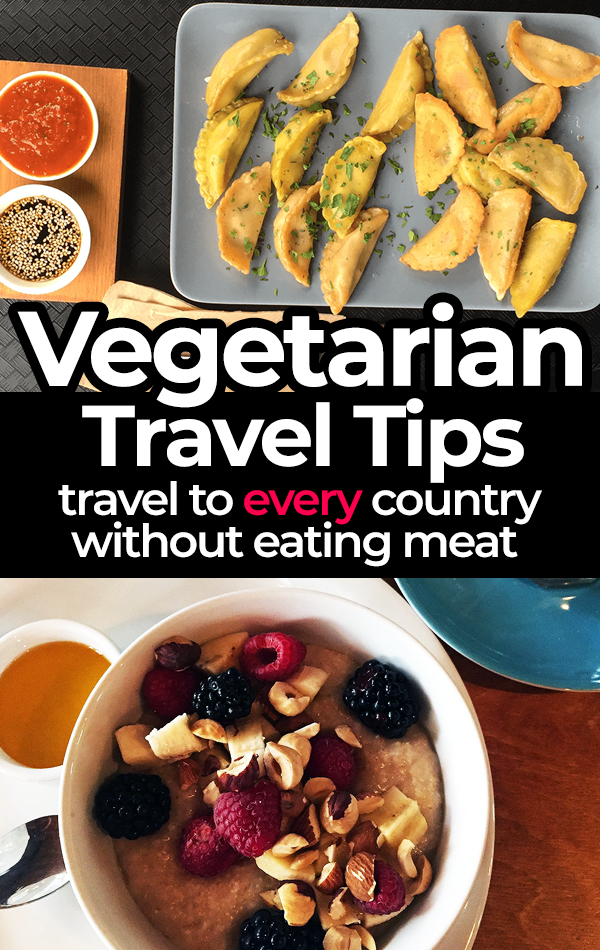 Vegetarian travel tips based on fifteen years of international travel. Includes vegetarian trip planning tips and useful advice for ordering vegetarian food in restaurants around the world.