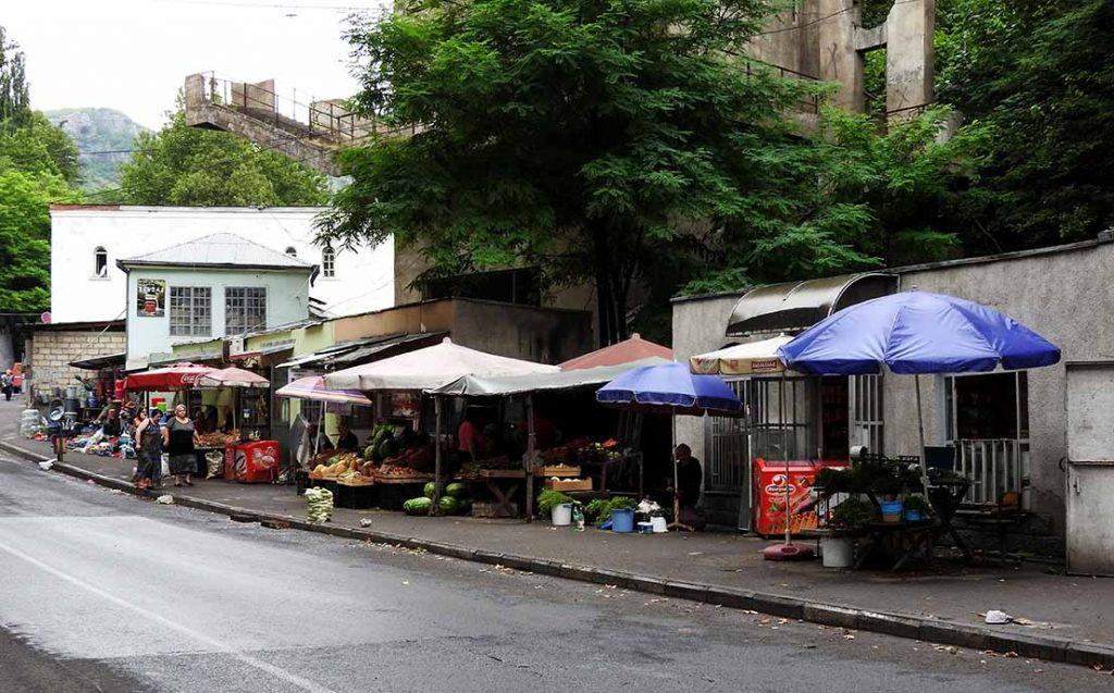 Chiatura Georgia Street Market