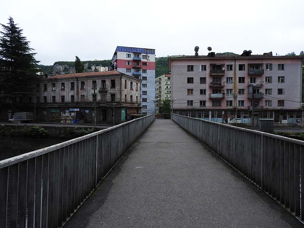 Bridge in Chiatura Georgia