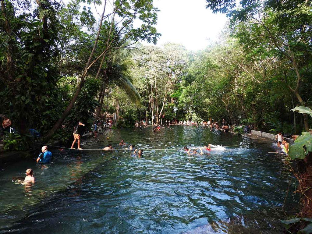 Ojo de Agua on Ometepe Island in Nicaragua