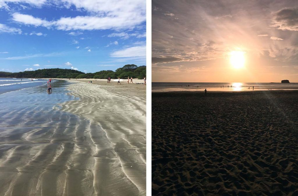 Relax at Playa Hermosa, Near San Juan del Sur, Nicaragua
