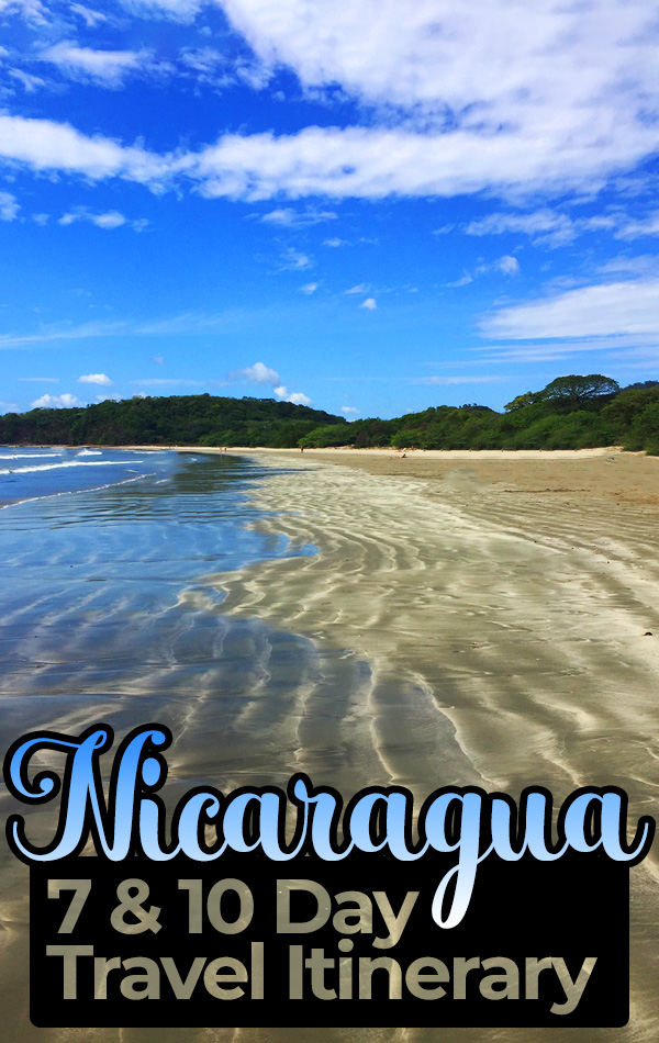 A complete travel guide and travel itinerary for Nicaragua, including Granada, San Juan del Sur, Laguna de Apoyo and Ometepe Island.