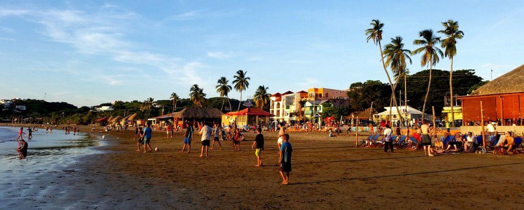 Playa in San Juan del Sur, Nicaragua