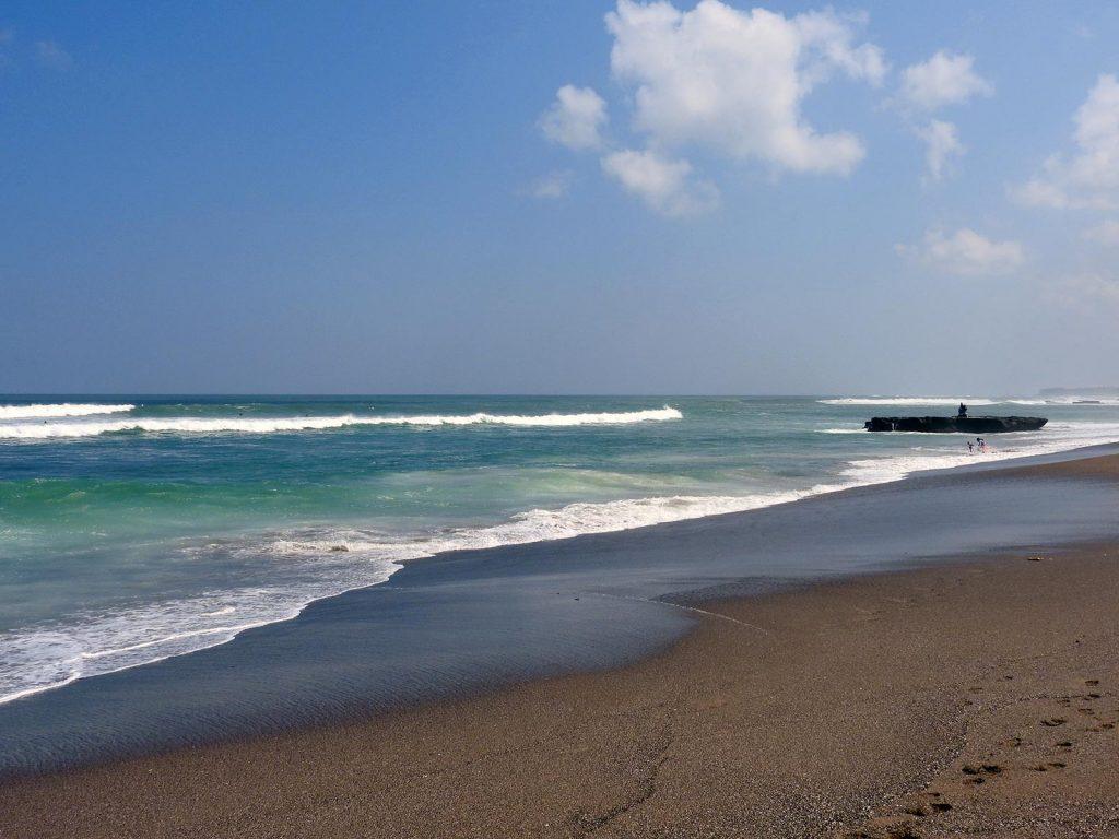 Canggu Beach in Bali, Indonesia
