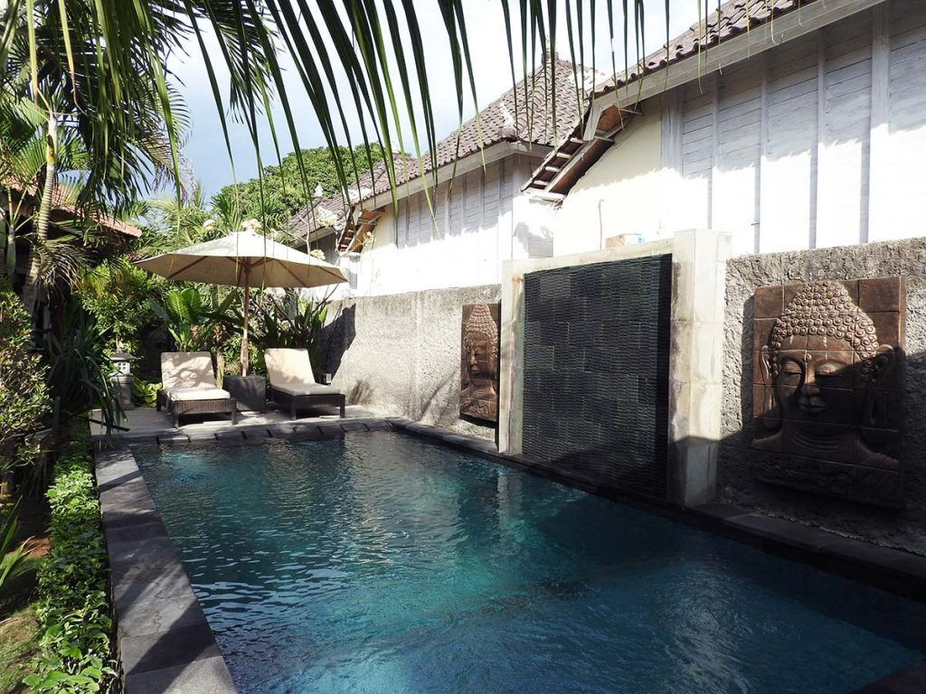 Isola d'Oro Hotel Pool on Nusa Lembongan