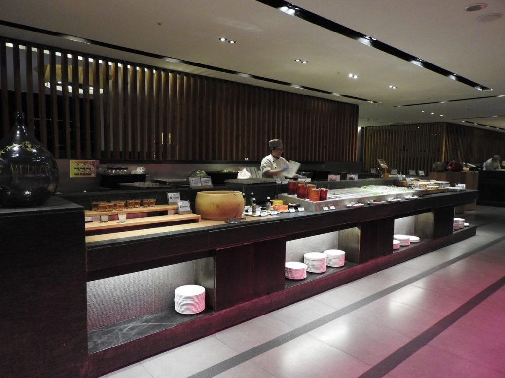One of the Buffets at Fruitful Food Restaurant in Taipei