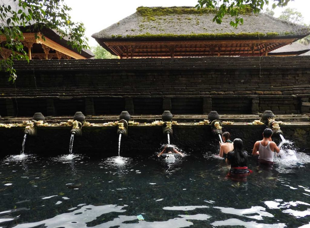 Tirta Empul Water Temple near Ubud, Bali