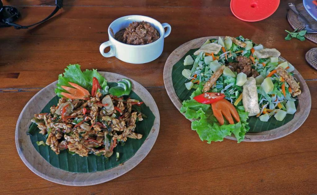 Vegetarian and Vegan Indonesian Food Prepared at an Ubud Cooking Class