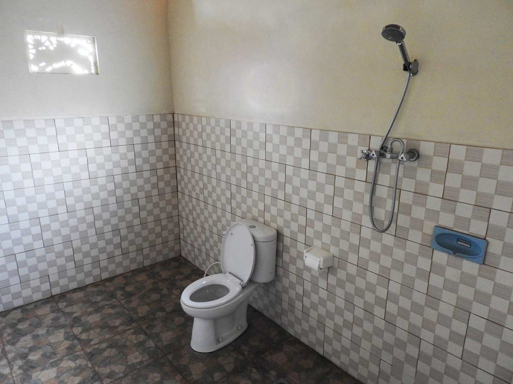 Bathroom at Dipa Homestay, an Ubud guesthouse in Bali, Indonesia