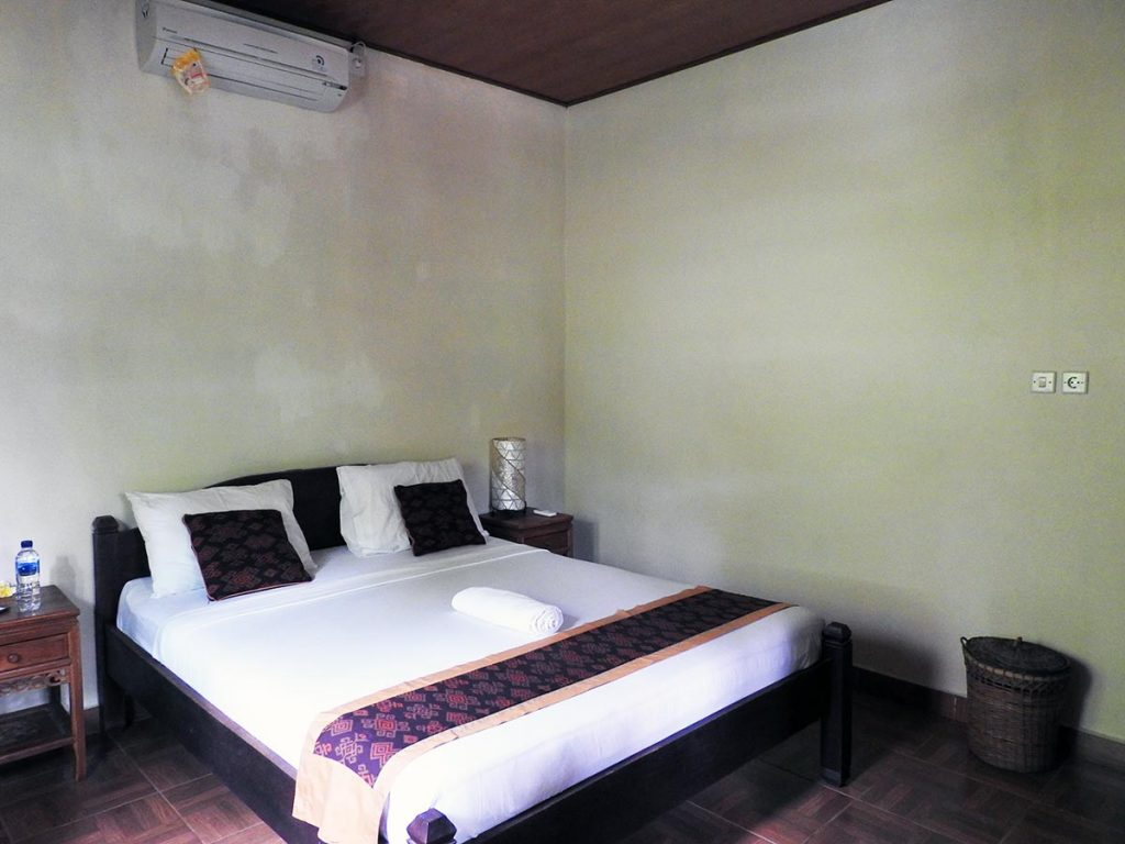Guestroom at Dipa Homestay, an Ubud Guesthouse in the center of Ubud, Bali.