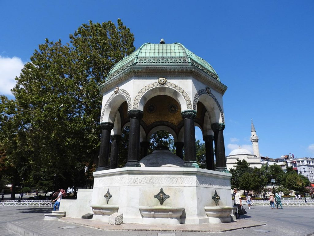 The German Fountain in Istanbul