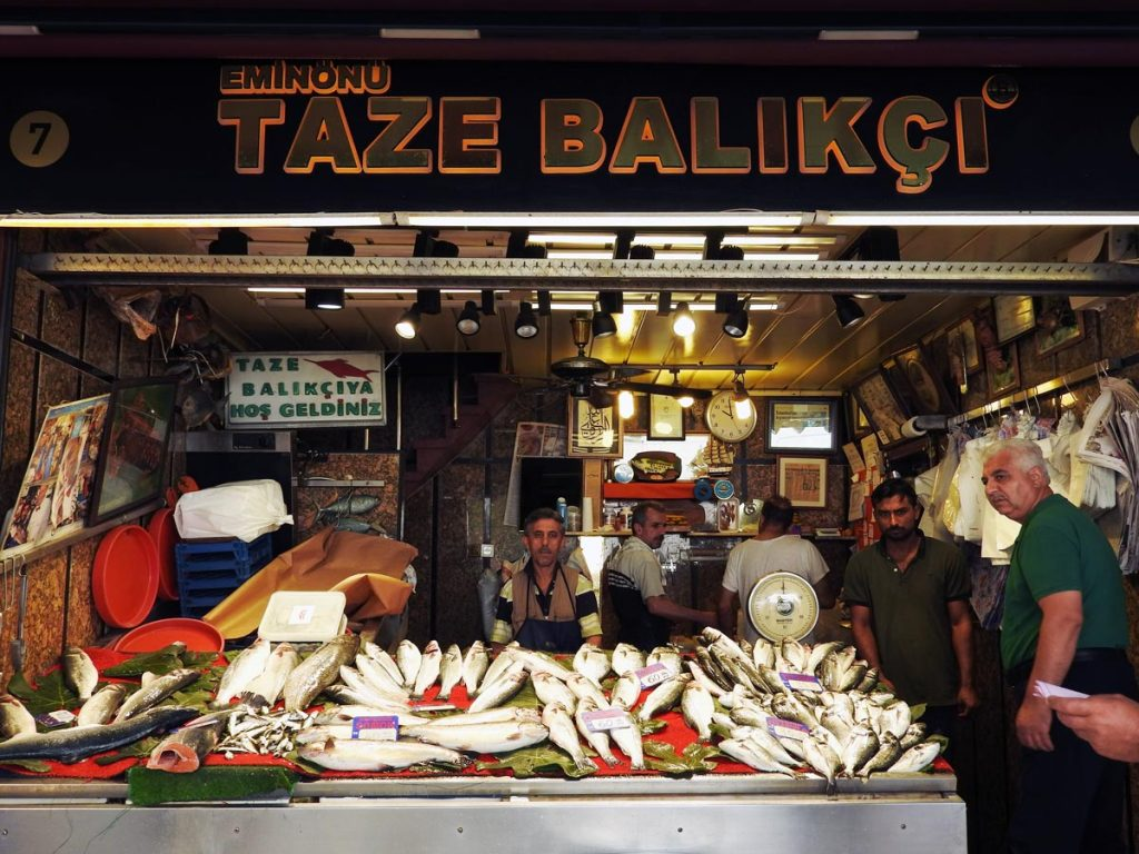 The Fish Market in Istanbul, on an Istanbul Food Tour