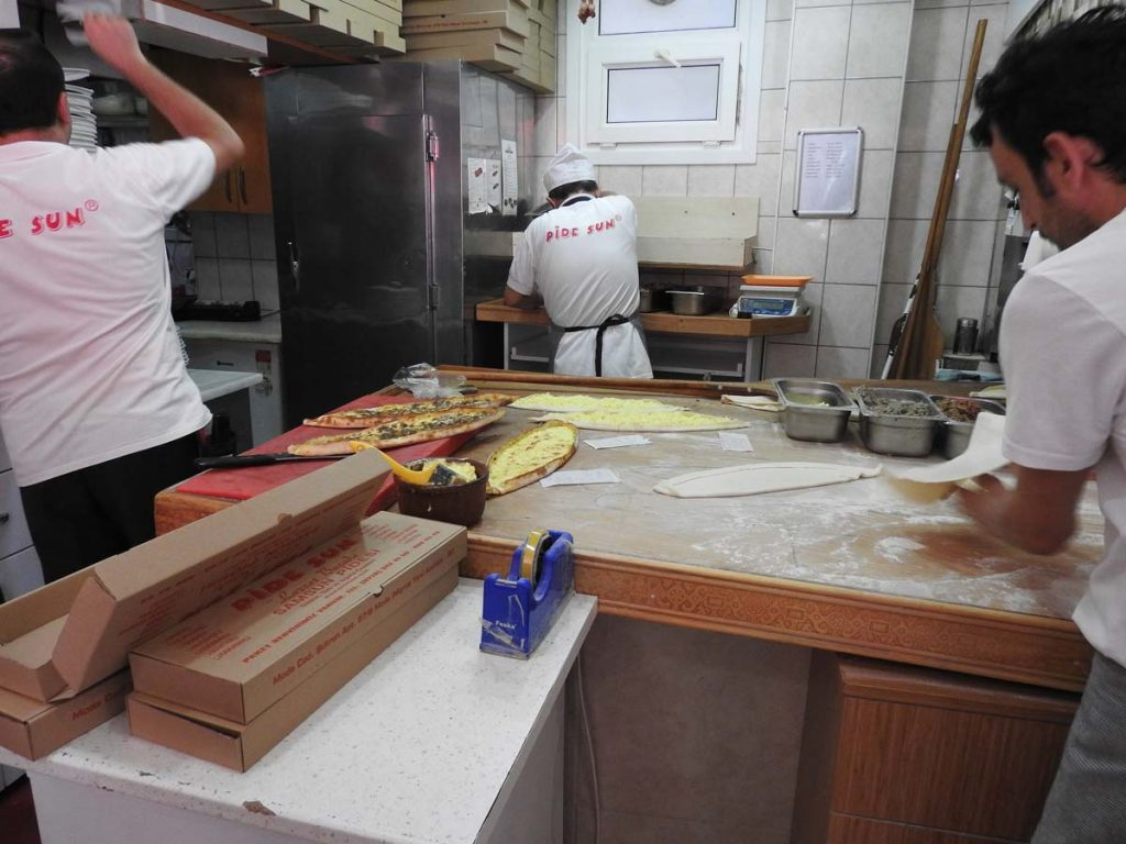 A Pide Shop in Kadikoy on a Turkish Food Tour of Istanbul