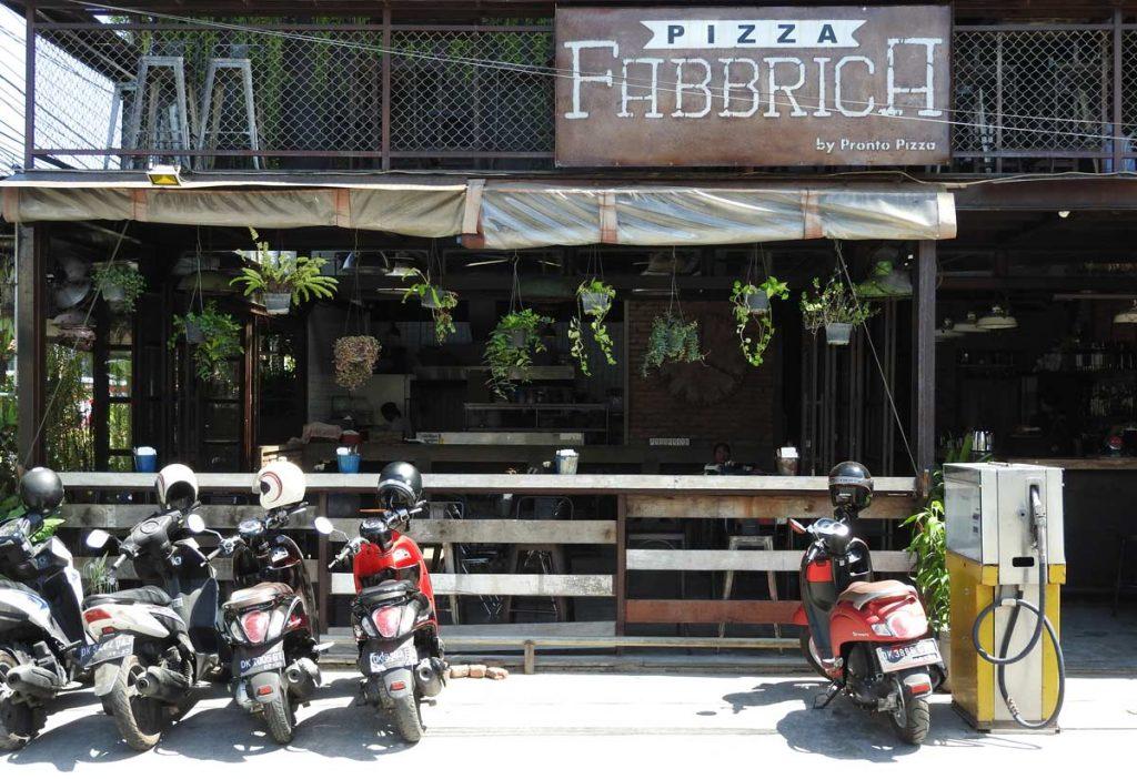 Pizza Fabbrica in Canggu, Bali, Indonesia