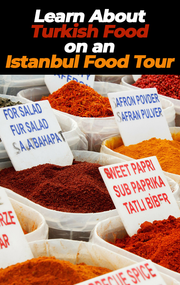 Yes, you can learn about Turkish food on an Istanbul food tour, even if you're a vegetarian! Learn where you'll go and what you'll eat if you sign up for a food tour of two continents in Istanbul!