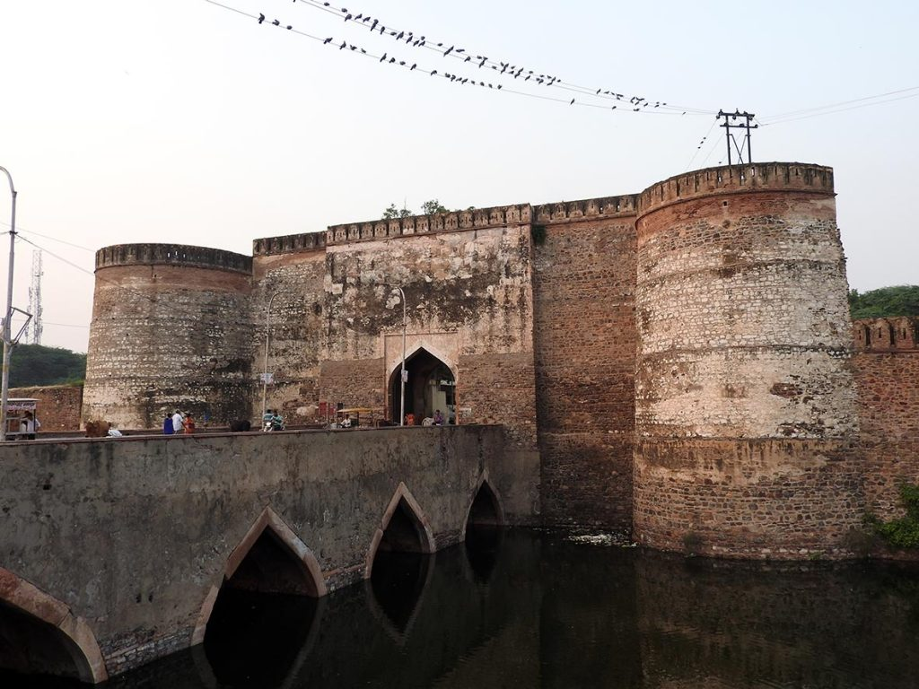 The Old Fortress in Bharatpur, Rajasthan, India