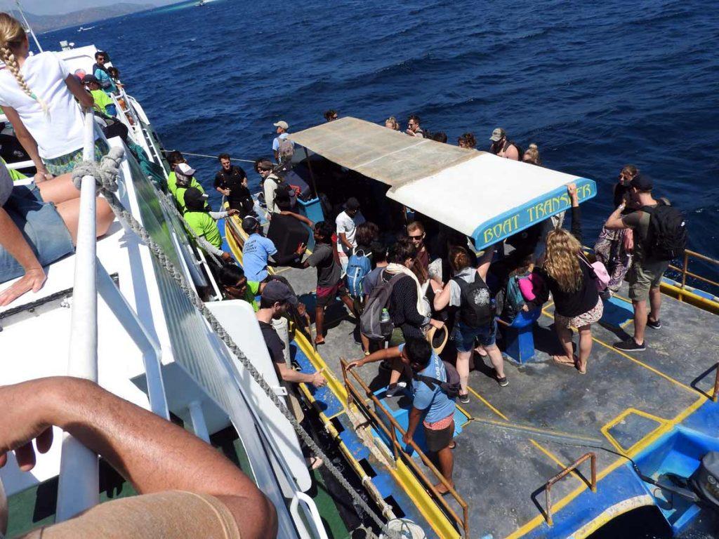 Eka Jaya Boat from Bali to Gili Air