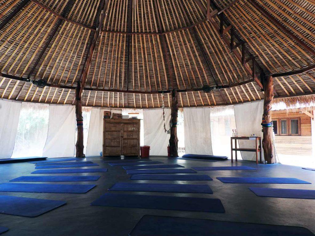 Yoga on Gili Air