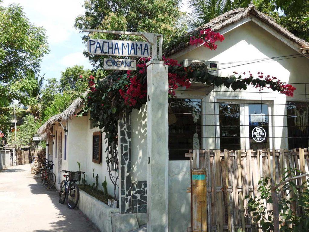 Pachamama Organic Restaurant, Gili Air