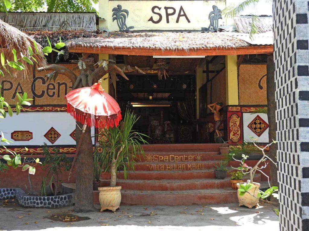 Spa on Gili Air, Bali and Lombok, Indonesia