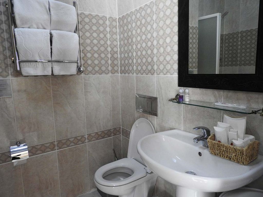 Bathroom in Hotel Belon-Lux in Nur-Sultan or Astana