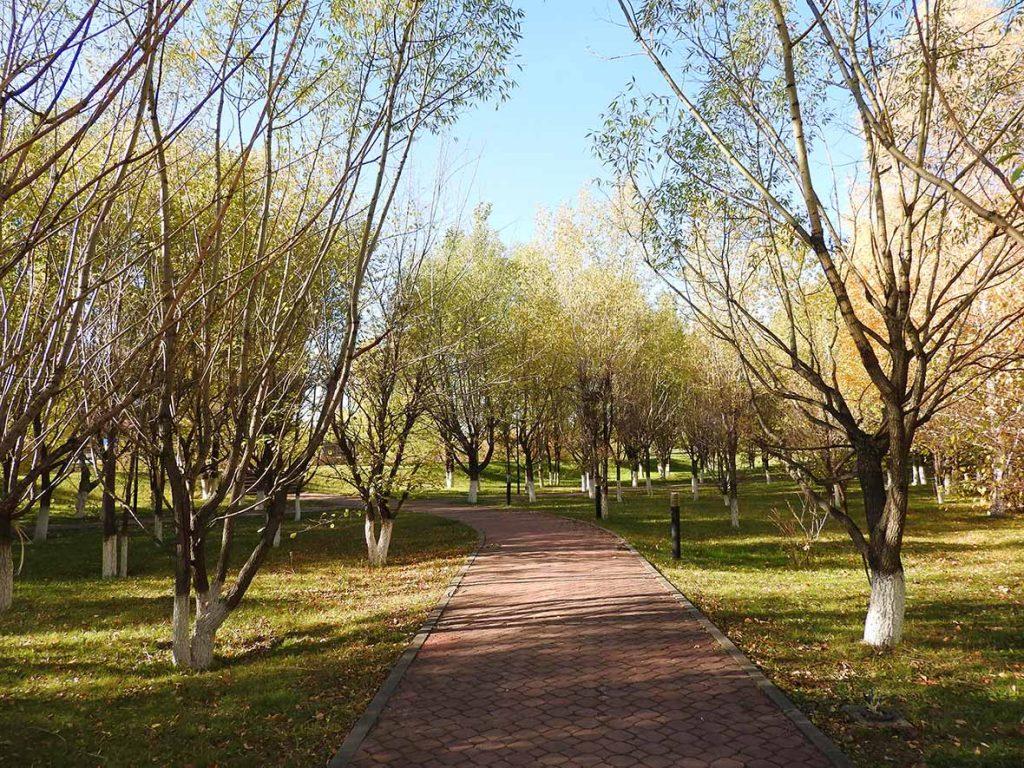 Parks in Nur-Sultan, Kazakhstan