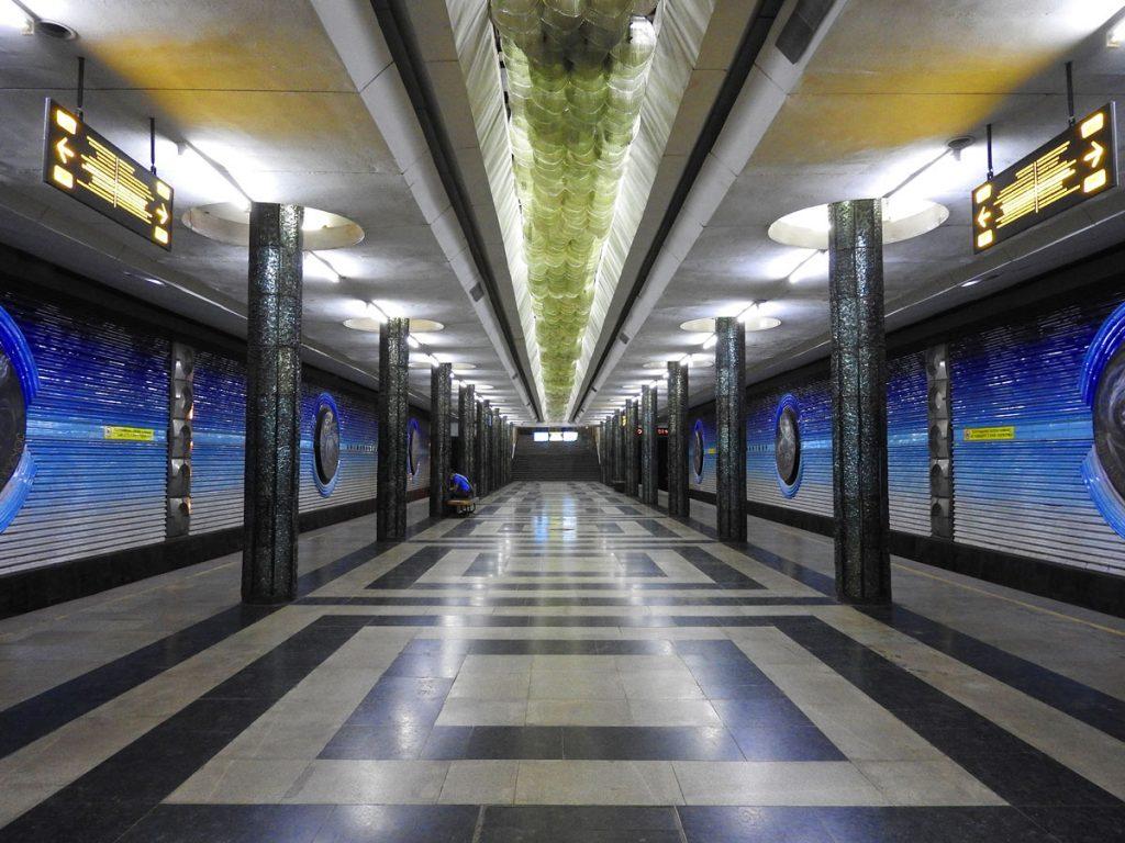 Metro Station in Tashkent Uzbekistan