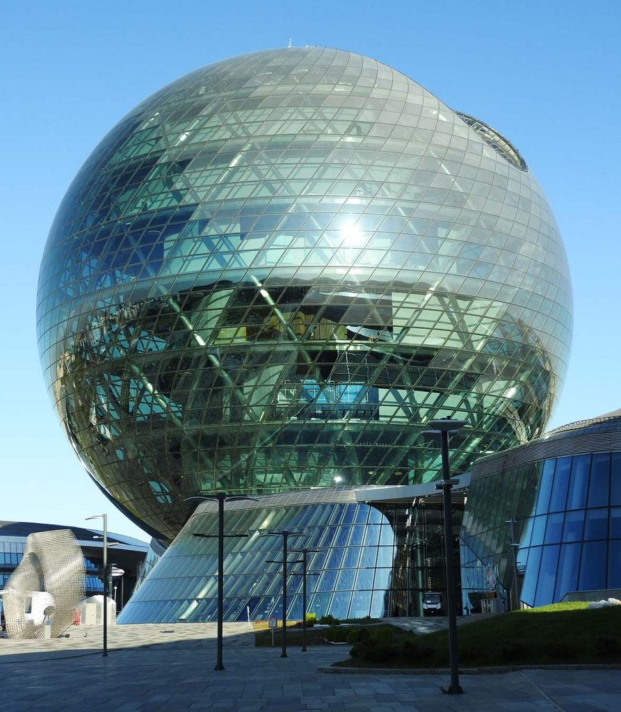 Expo 2017 Dome in Nur-Sultan