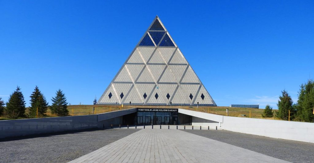 Norman Foster's Palace of Peace and Reconciliation in Nur-Sultan