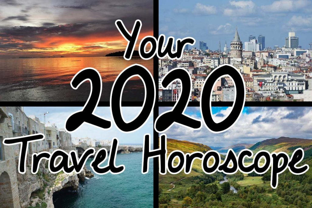 Your 2020 Travel Horoscope for Every Star Sign on the Zodiac. Where to travel in 2020 based on your unique astrological profile.