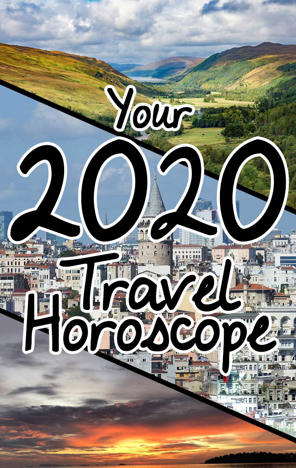 Your 2020 Travel Horoscope - The best travel destinations for 2020 for every zodiac sign, based on your astrological profile and expert travel recommendations.