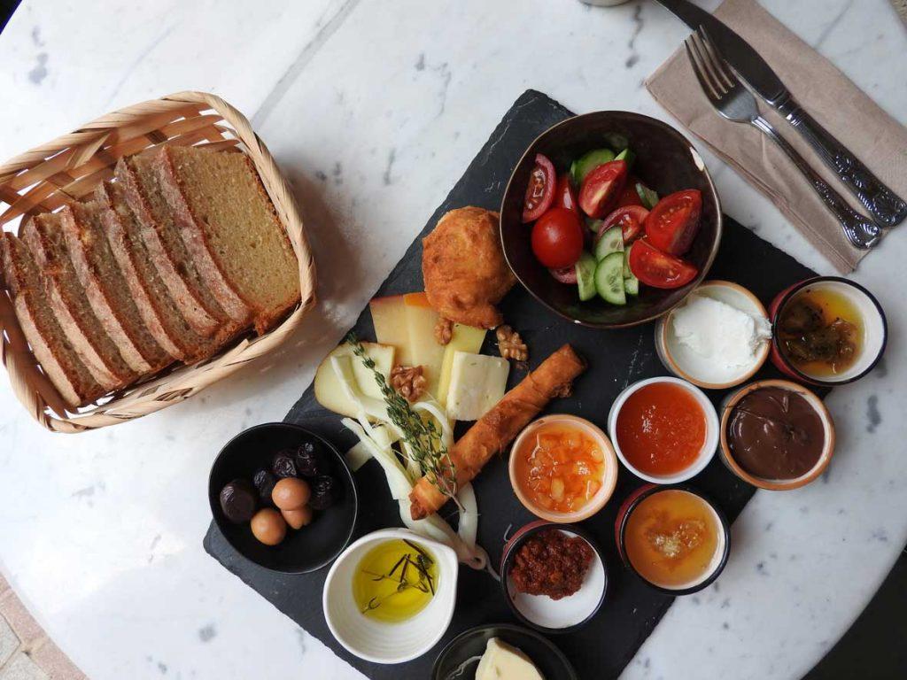 Brunch at Cooklife Balat in Fener Balat Istanbul Turkey