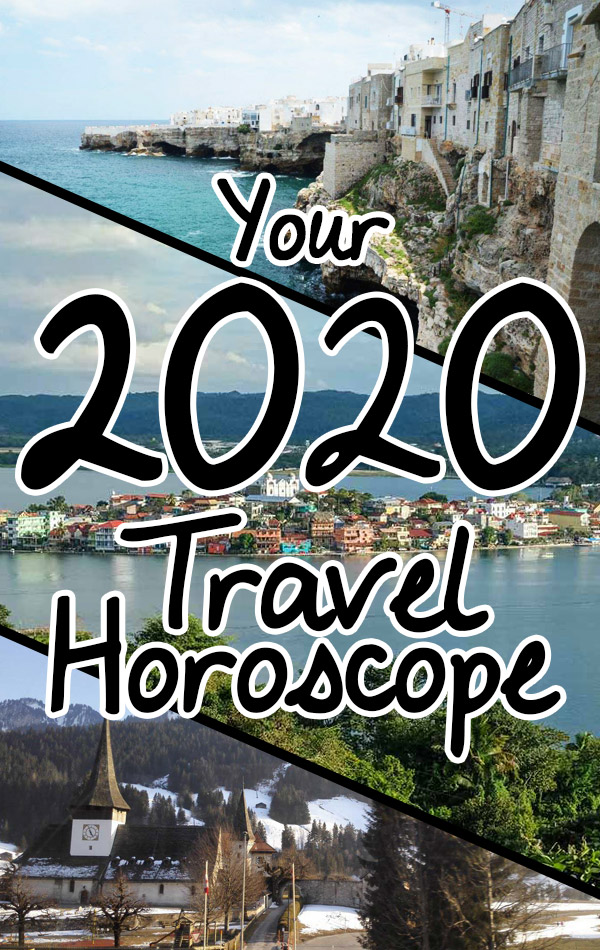 A 2020 Travel Horoscope for All Zodiac Signs. Where to travel in 2020 based on your star sign and astrology profile.