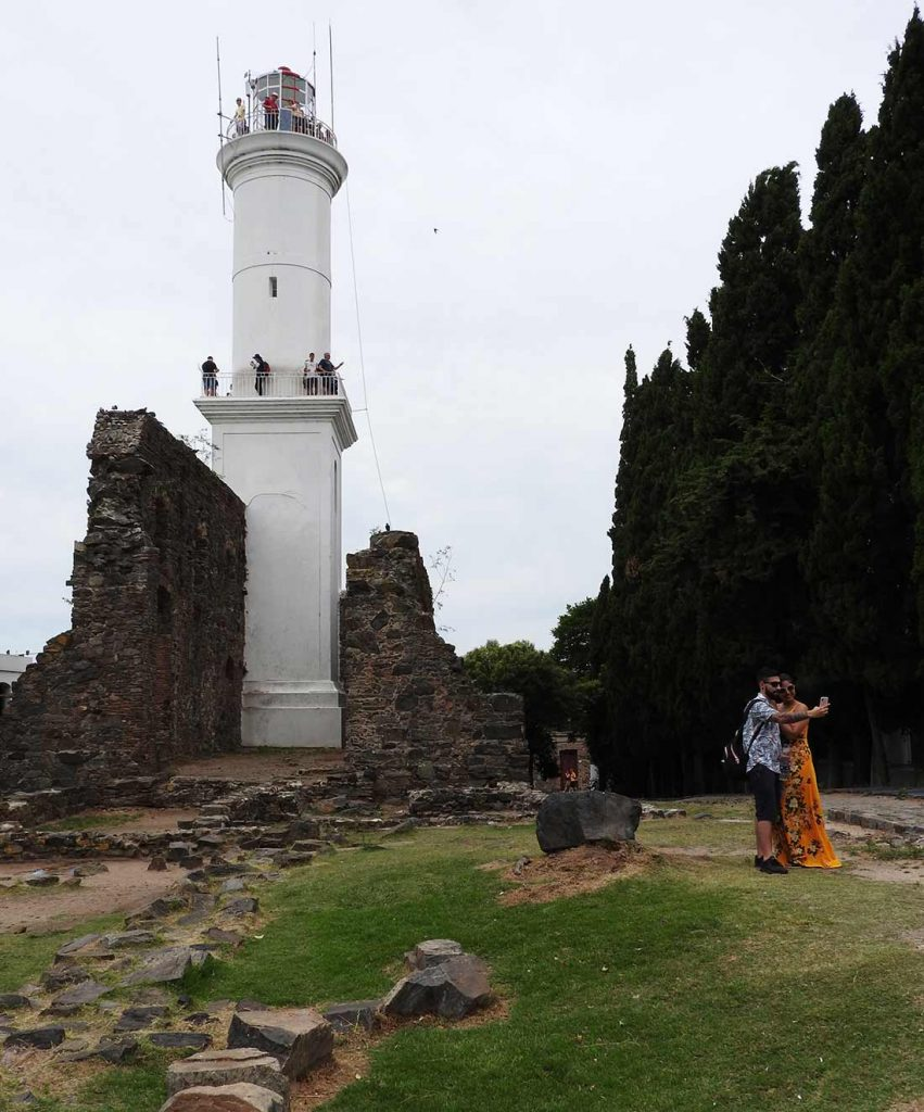 Faro (Lighthouse) in Colonia del Sacramento, Uruguay