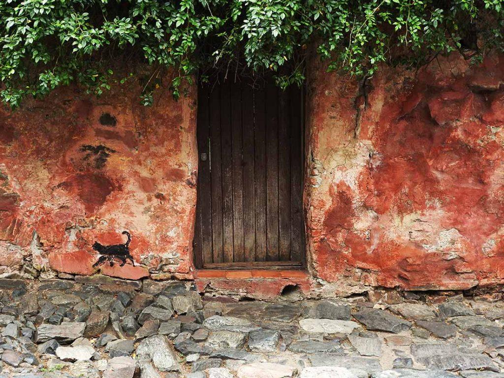 Doorway in the Historic Quarter of Colonia, Uruguay