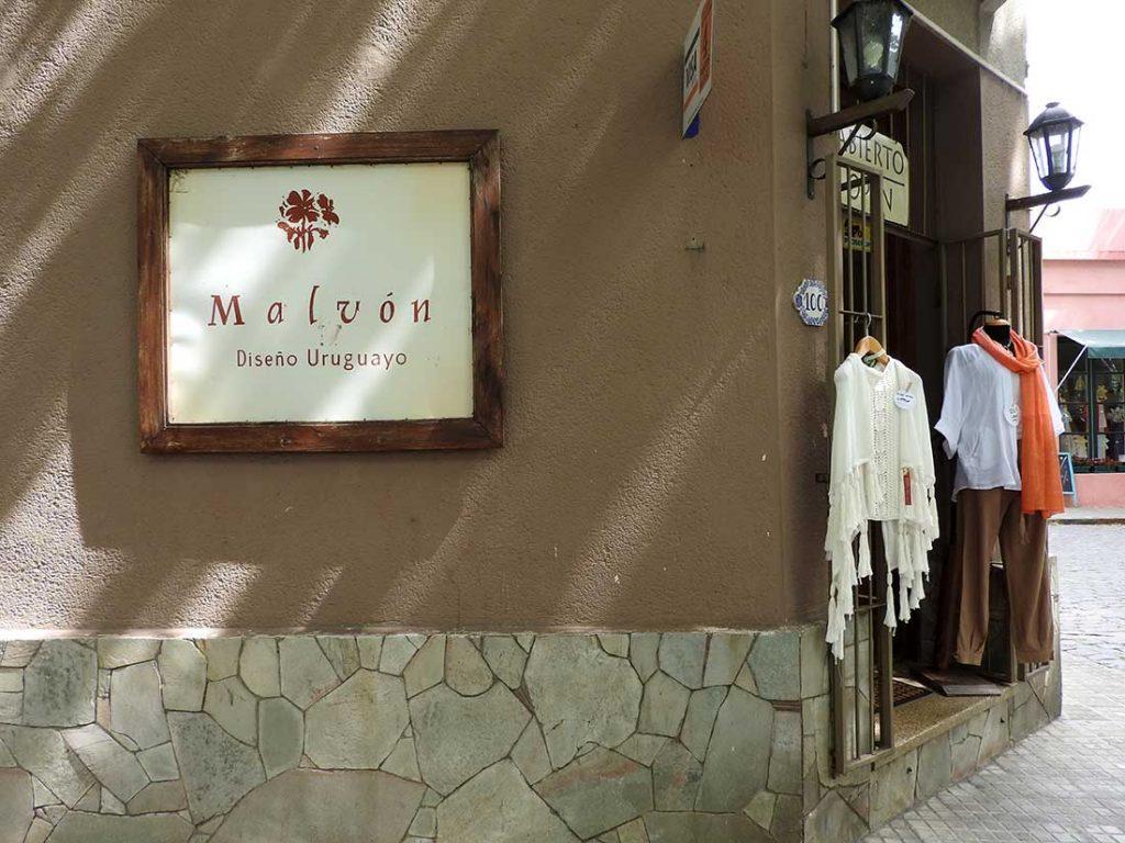Boutique Malvon in Colonia, Uruguay