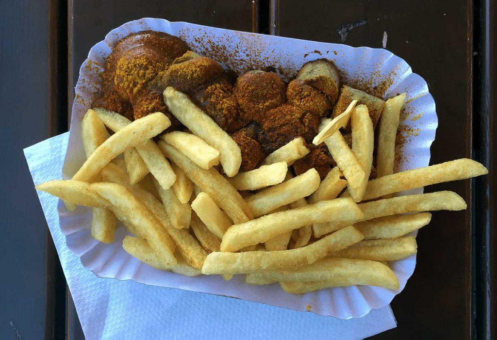 Currywurst is a Traditional German Dish That Can be Made Vegetarian